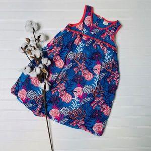 Gymboree Coral Mermaid Cove Sleeveless Dress